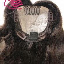 Лучшие европейские девственные волосы Кошерные волосы Топпер не парик, необработанные еврейские волосы kippah падение Топпер
