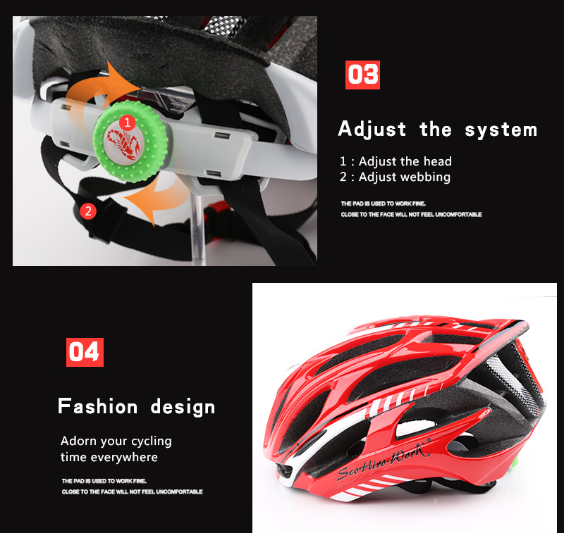 Cycling Helmet Integrally-molded Bicycle Helmet Road Mountain MTB Bike Ultra light Helmet With LED Lights Glasses Bike Equipment (13)
