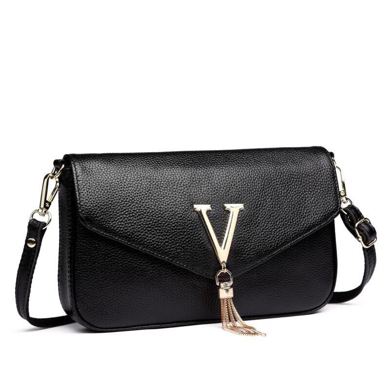2018 European Genuine Leather handbags Women famous brand Designer Women Bag Luxury brand Ladies Leather Bag Women Messenger Bag