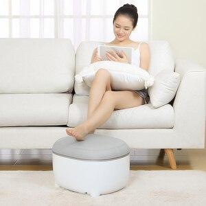 Image 4 - Youpin Momoda ขนาดเล็กสตูลเท้าอุ่นสตูล Massager 2 In 1 สามขั้นตอนเท้านวดหมอนร้อน  การบีบอัดอุ่นฟุต