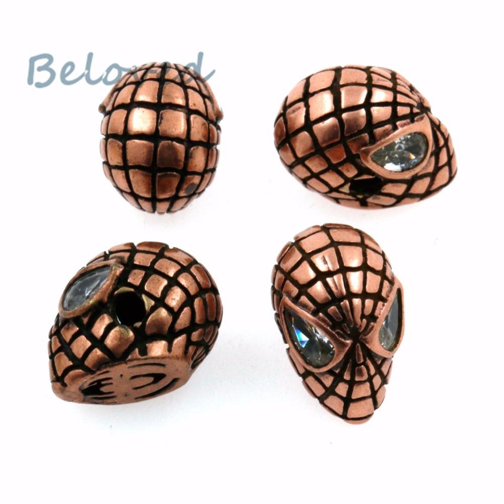 Beads Magic Fish 1pcs Diy Spiderman Jewelry Accessories Beads Hand Made Men Bracelets Wholesale Choker Jewelry Findings Perlen Online Discount