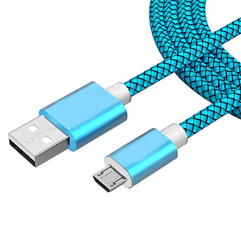 Micro kabel USB do ładowania do Samsung Galaxy Note 3 2 S8 S7 S6 krawędzi A5 A3 2016 J5 J7 2017 leagoo Kiicaa Power ładowarka Kabel Kabel