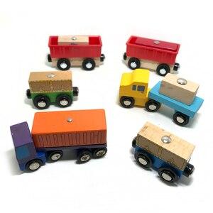 Magnetic Cargo Transporter Toy
