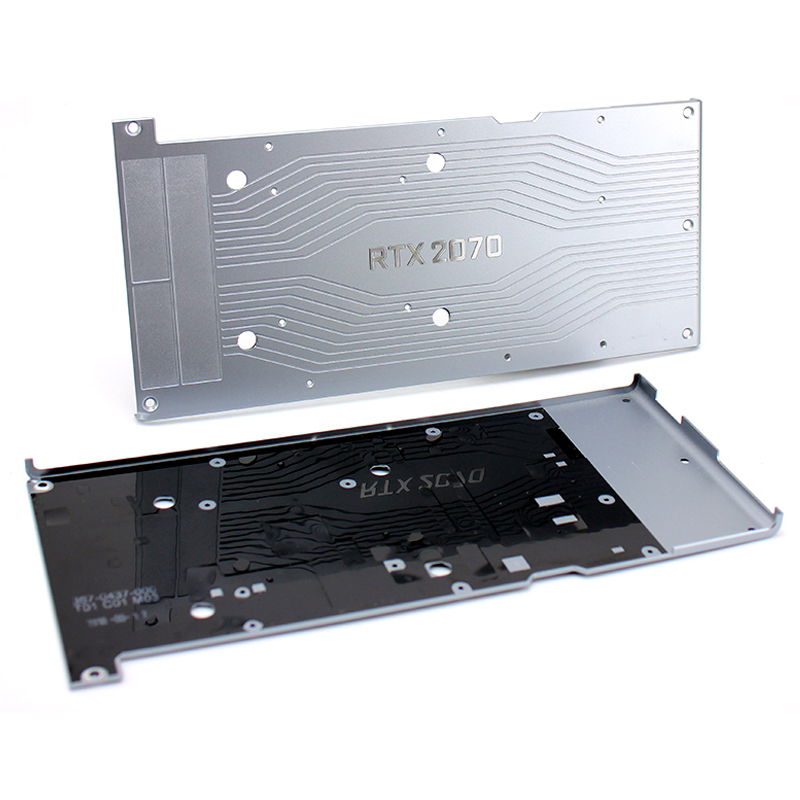 NEW NEW NEW Original Graphic Backplane For NVIDIA RTX 2070 Graphics Card Backplanes RTX2070 Video Card Back Plane