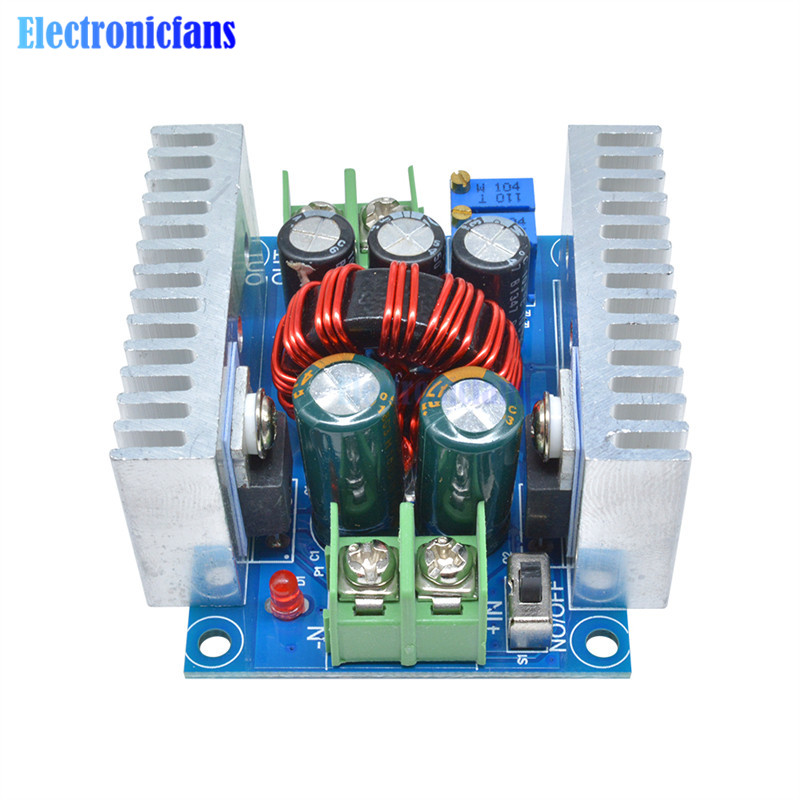 Image 5 - 300W 20A DC DC Buck Converter Step Down Module Constant Current LED Driver Power Step Down Voltage Module Electrolytic Capacitor-in Integrated Circuits from Electronic Components & Supplies