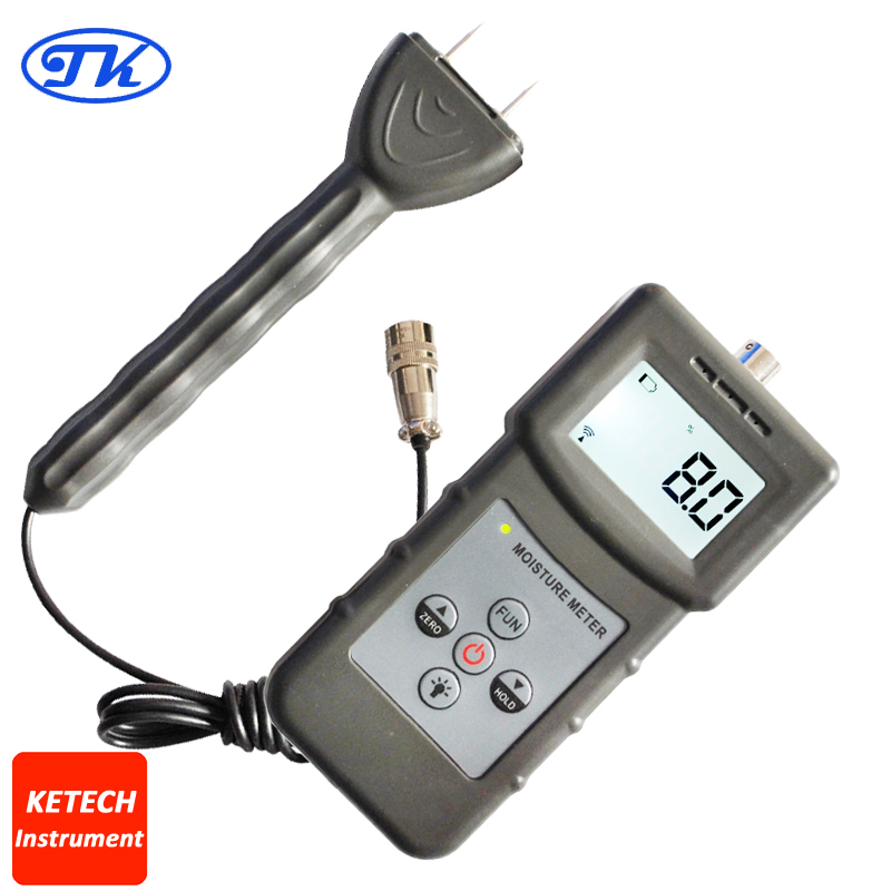 Pin Type & Inductive Moisture Meter For Wood ,Timber,Paper,Bamboo,Carton ,Concrete, Textile and other Materials MS360