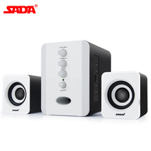 2.1 3 Channel Bass Combination PCMP3Cellphone Bluetooth Speaker Wireless