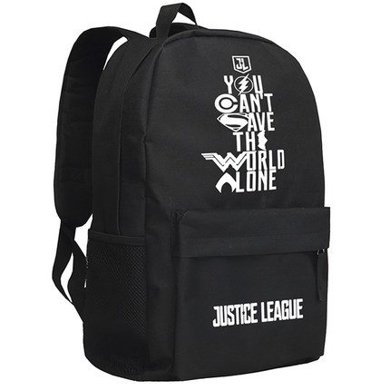 New Justice League Backpack Cosplay The Flash batman Cartoon Bag Anime Oxford Schoolbag hot selling anime inuyasha sesshoumaru cosplay shoulders oxford bag backpack cartoon cute schoolbag satchel book bags