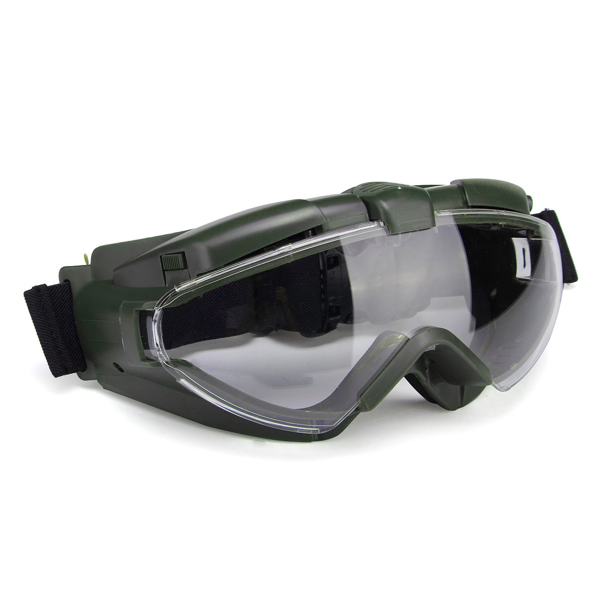 cd2f3326b Melhor Tático Anti nevoeiro óculos de proteção Anti poeira óculos de  Segurança Óculos Óculos com Ventilador Regulador de Segurança Proteção para  Os Olhos ...