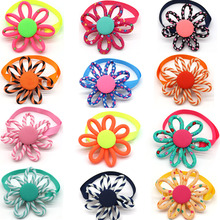 100pcs 2019 New Spring Pet Supplies Sun flower Pet Dog Cat Bowties Neckties Samll dog Cat holiday Grooming Accessories