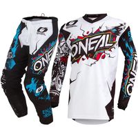 2019 Off road combo MX Element Villain Neon 3 colors Jersey Pants Motocross Gear Set Cycling pants combination