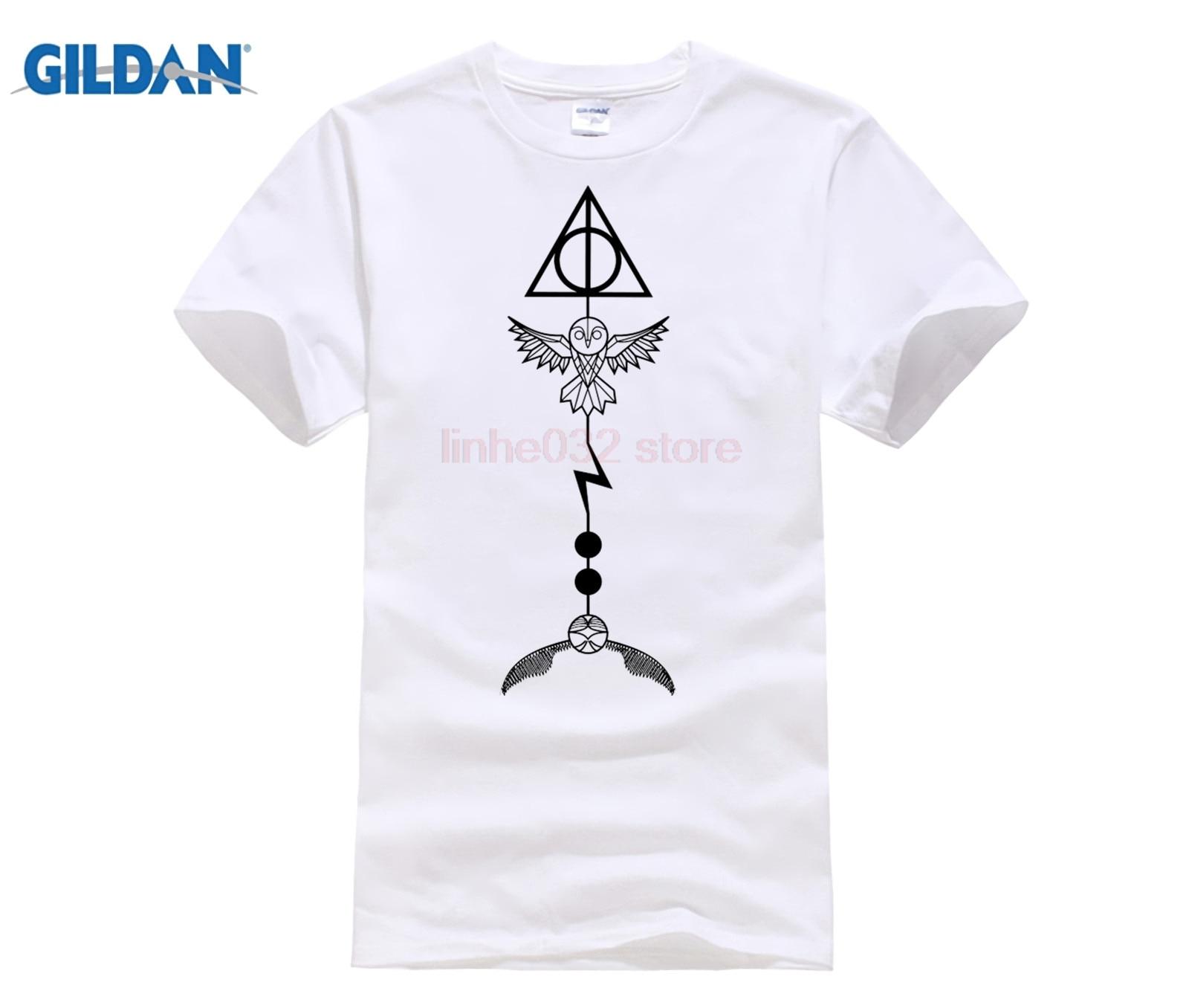 Potter Tee Magic Arrow T Shirt T Shirt Casual Brand Clothing Printing Harry Shirt