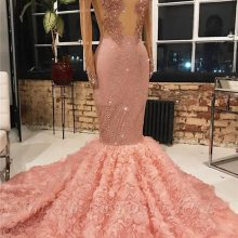 trust linda Gorgeous Long Sleeves Mermaid Prom Dresses