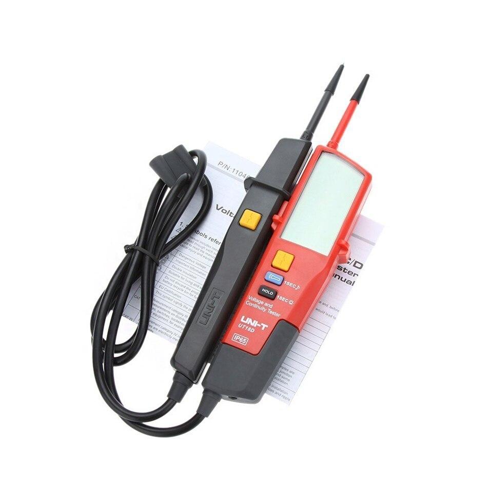 1 pièces UNI-T UT18D UT18A UT18B UT18C tension et continuité testeurs gamme automatique volts détecteurs stylo LED/écran LCD - 2