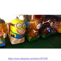 Thailand Like High Quality Fiberglass Coin Operated Kiddie Rides Kids Game Machines Amusement Rides Swing Machines