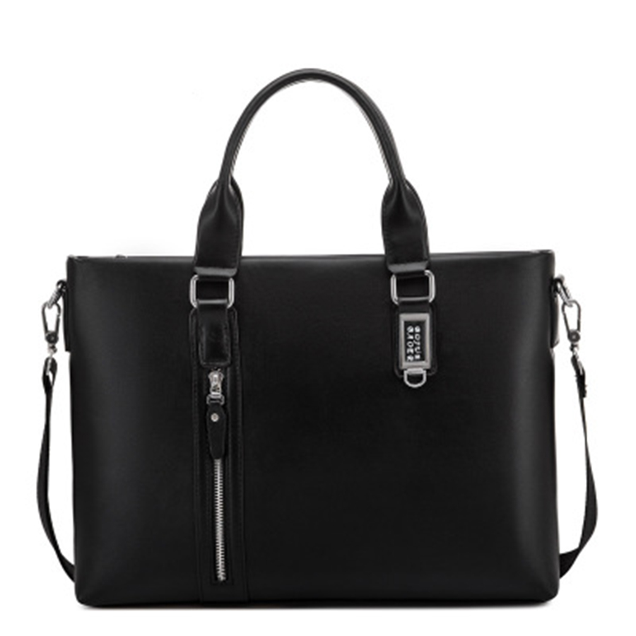 Ipad Laptop Briefcase Business Man Bag Male Lawyer Office Business Bag Computer Work Borsa Porta Computer Man Bag Big 50GWB13(China)