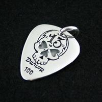 925 pure silver pendants punk paddles peach pendant