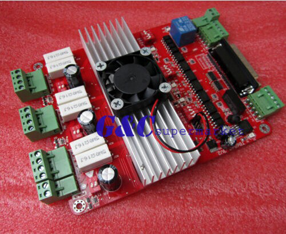 SainSmart CNC 3 Axis TB6560 Stepper Motor Board Controlle+Parallel Cab
