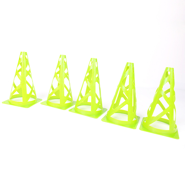 10pcs/lot Sport Disc Cones Soccer Football Rugby Field Marking Coaching Training Agility Sports with bags dropshipping