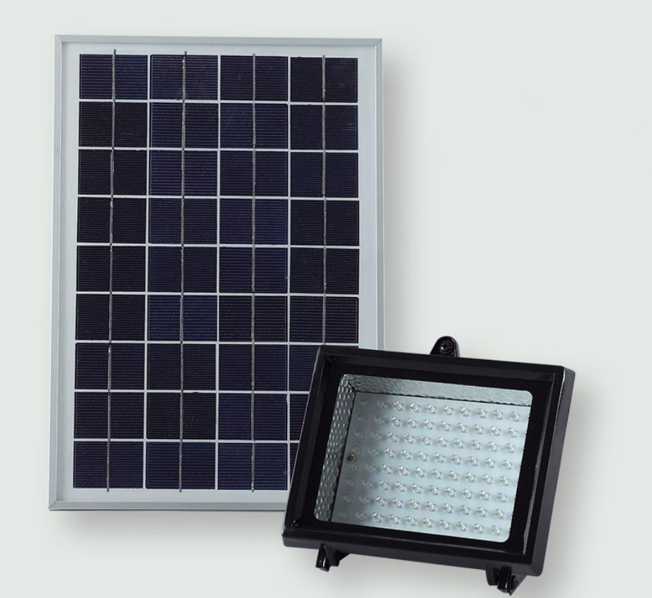 ФОТО High Brightness 88*LEDs Solar Power Floodlight Outdoor Advertising LED Lamp Solar Spot Light IP55 Waterproof
