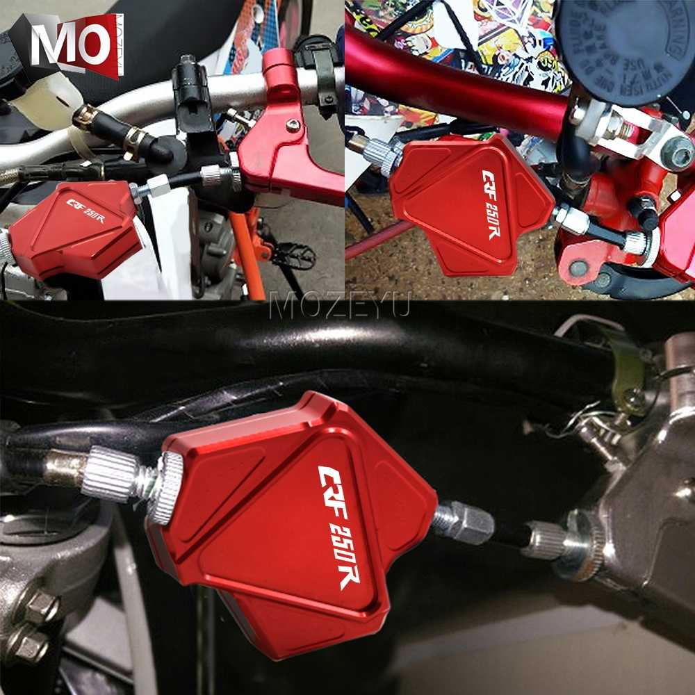 Accessories Motorcycle CNC Aluminum Stunt Clutch Lever Easy Pull Cable System for Honda CRF250 CRF 250 Rally 2017