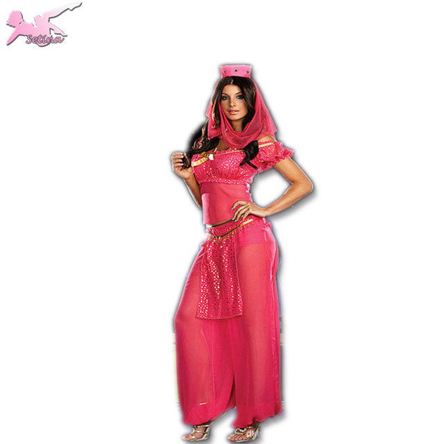 sexy costume New plum red Arabic dance clothes masked girl belly dance dress sexy genie costume  sc 1 st  AliExpress.com & sexy costume New plum red Arabic dance clothes masked girl belly ...
