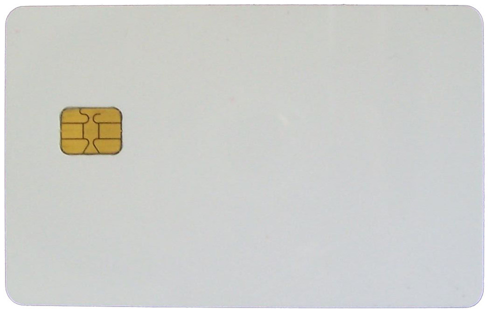 IC card 4442 chip smart card,contact type ic card, widely used in consumer systems ,min:100pcs
