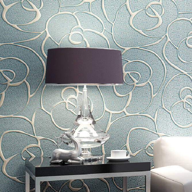 Non-woven Wallpaper Roll Embossed Floral Wallpaper Mural Living Room Background Wallpaper High Quality Modern Luxury Wallpaper