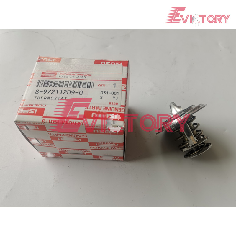 Genuine new 3LB1 3LD1 4LE1 thermostat For IHI 35NX excavatorGenuine new 3LB1 3LD1 4LE1 thermostat For IHI 35NX excavator