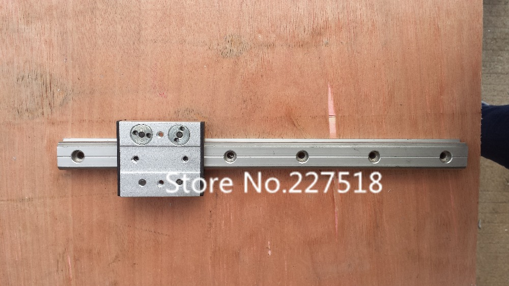 ФОТО High speed linear guide roller guide external dual axis linear guide 1pc OSGR20-L500MM +1pc OSGB20UU 60mm length