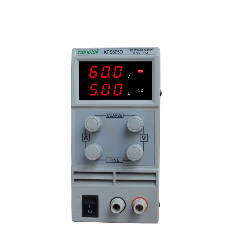 Mini Switching DC Power Supply KPS605D 60V 5A Single Channel Adjustable SMPS Digital 0.1V 0.01A DHL FedEx etc. Free Shipping newest mini switching dc power supply kps605d 60v 5a single channel adjustable smps digital 0 1v 0 01a dc power supply