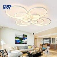 Modern Led Ceiling Lights For Living Room AC 90 260V Novation Acryl Lamp Home Lighting Lustre