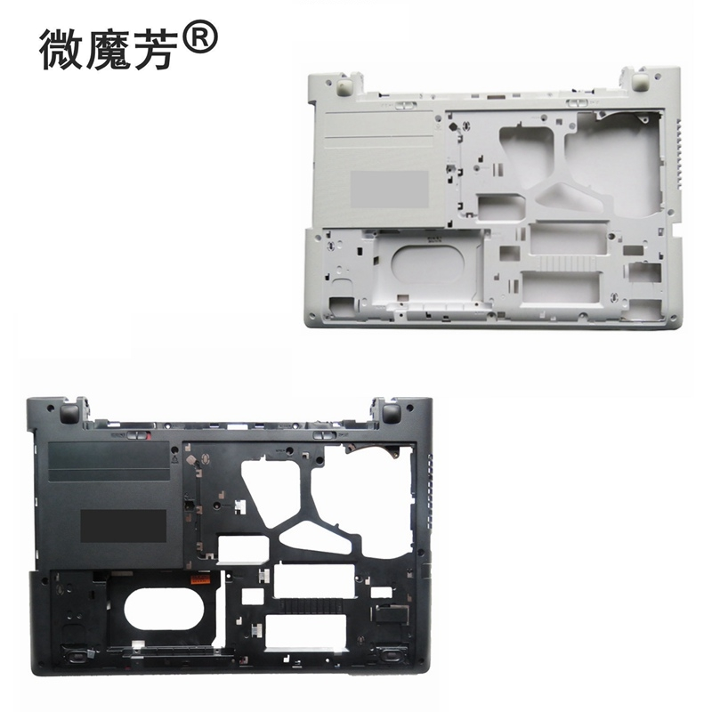 NEW Laptop Bottom Base Case Cover for lenovo G50-30 G50-45 G50-70 G50-80 Z50-70 AP0TH000B10 white or black D shell jack for lenovo ideapad g50 g50 70 g50 30 g50 40 g50 45 g40 70 g50 80 dc31100ld00 lg00 laptop dc power socket connector cable