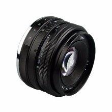 F1.7-F22 Lightdow 35mm Manual de Lente para Sony Espelho Menor Nex e Mount 3 C3 5N 5R 3N 5 T A6300 A6500 A5100 A6000 A5000 A3000 A3500