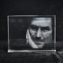 Exquisite Personalized Laser Engraved Crystal Photo Frame