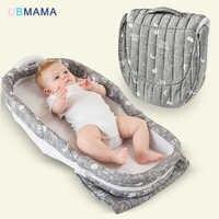 Ont musique veilleuse portable pliable bébé lit maman packs garçon gril lit de voyage bébé nouveau-nés berceau 90*40*14cm offre spéciale