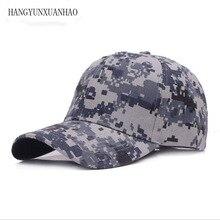 Digital Men Baseball Caps Army Tactical Camouflage Cap Outdoor Jungle Hunting Snapback Hat For Women Bone Dad Hat цена