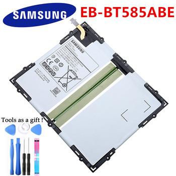 Oryginalny 7300mAh EB-BT585ABE wymienna bateria do tabletu Samsung Galaxy Tab A 10 1 2016 T580 SM-T585C T585 T580N + narzędzia tanie i dobre opinie Powyżej 5000 mAh Kompatybilny