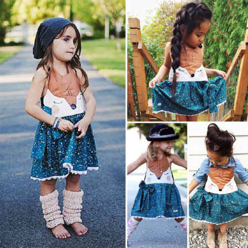 8385e0dc7 Detail Feedback Questions about 2018 New Adorable Girls Fox Dress ...