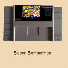 Super Bomberman 16 bit Video Game Card For PAL NTSC Game Player