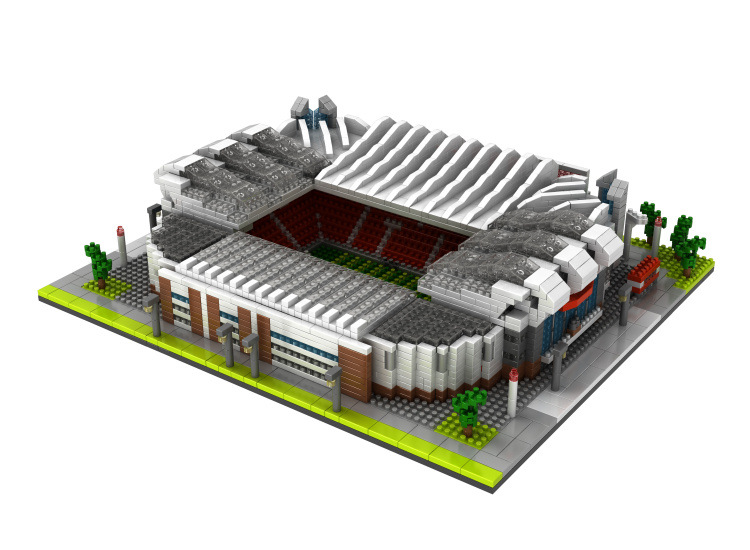Manchester United Football Old Trafford Stadium Diamond Building Nano Blocks Toy