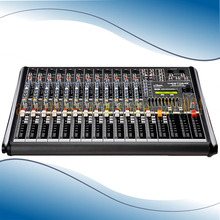 Professional Digital Mixer 12 channels with USB 48V Phantom Power Tuning Equipment