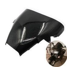 Мотоцикл черное ветровое стекло лобовое стекло окно Ветер Дефлектор щит для Honda VFR800 Interceptor 1998-2001 VFR 800 2000 1999
