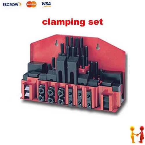 Metex фрезерный станок зажимные комплект M12 58pce мельница зажим комплект вице
