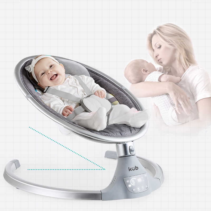 Mecedora eléctrica multifuncional para bebés de 0 a 36 meses, columpio para recién nacidos