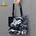 Starwars Impressos Sacos de Compras Sacola De Armazenamento Saco de Linho Para a Conveniência de Alimentos Bolsas Das Mulheres Do Ombro 1 Pçs/lote