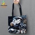 Starwars Storage Bags Printed Shopping Tote Linen Bag For Food Convenience Women Shoulder Handbags 1 PCS/Lot