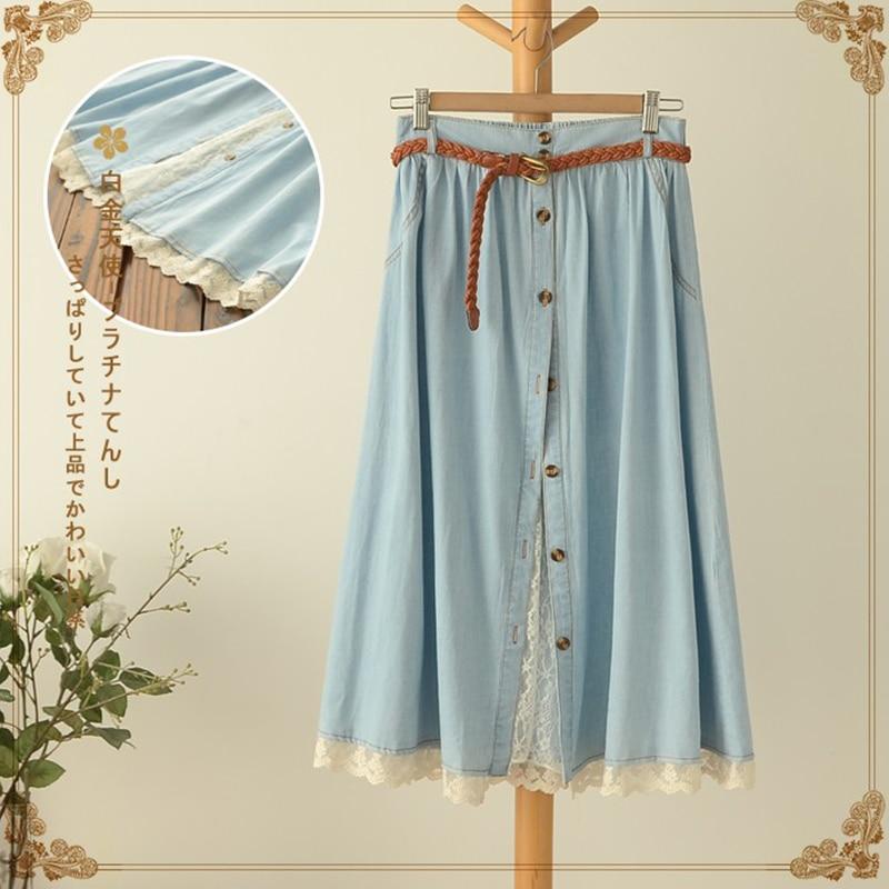 Шитье юбки на лето