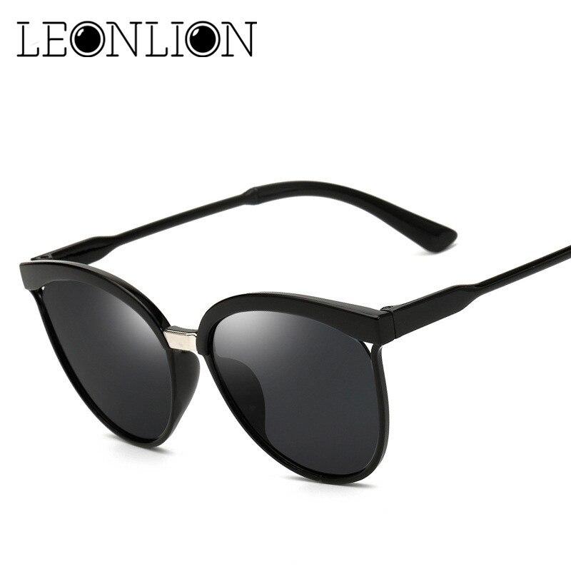 LeonLion Candies Brand Designer Cat Eye Sunglasses Women Luxury Plastic Sun Glasses Classic Retro Outdoor Oculos De Sol Gafas 1