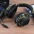 Aviación auriculares gaming stereo gaming auriculares para ps4/ps3/xbox one/xbox 360/pc/iphone más de-ear headset auriculares diadema